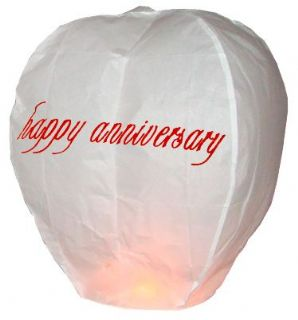 Happy Anniversary Chinese Lantern